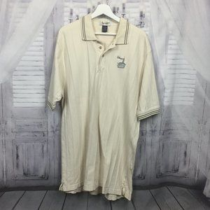 Walt Disney World Beach Club Cream Polo XL